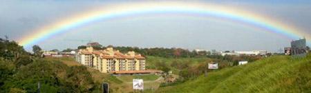 ¿Hay una olla de monedas de oro al extremo de un arco iris?