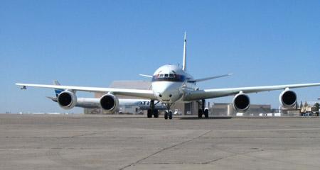 Avión DC-8 de la NASA