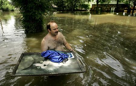 Inundaciones en Kansas