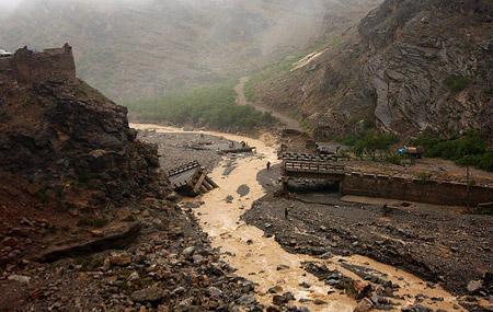 Lluvias en Pakistán