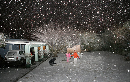 Nieve en Sudáfrica