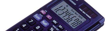 A la calculadora de la NASA le fallan las pilas