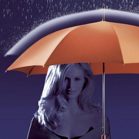 Paraguas NanoNuno que no se moja.