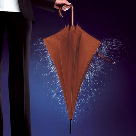 Paraguas NanoNuno. Se seca con sólo sacudirlo un poco.