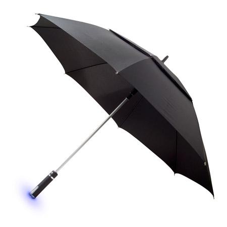 Paraguas Ambient Devices con pronóstico del tiempo incorporado