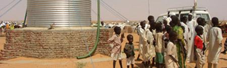Pozos de agua en Darfur para la paz