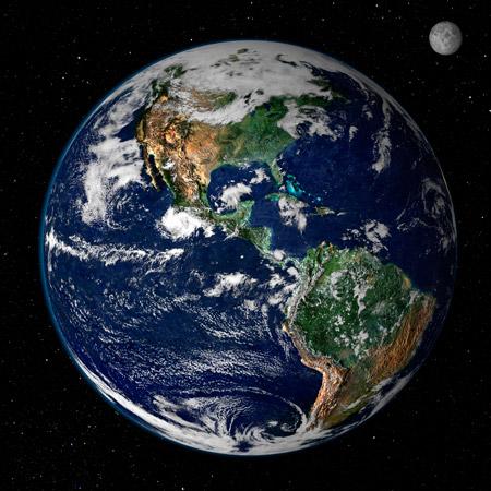 La mejor imagen satelital de la Tierra