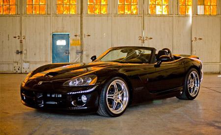 Dodge Viper impulsado con combustible E85