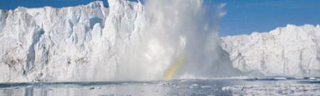 Disminuye el hielo en Groenlandia