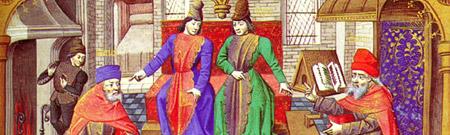 Los monjes medievales y el cambio climático