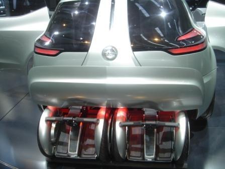 Opel Flextreme y Segway PT