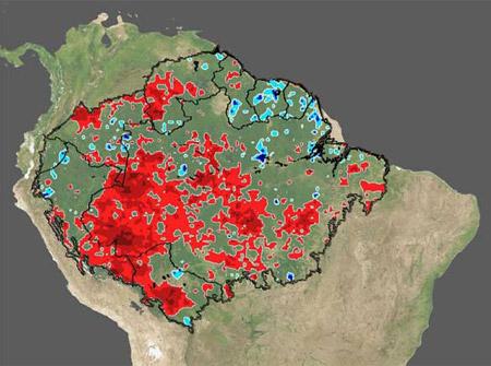 Sequía del Amazonas de 2005