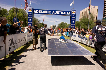 Aurora101, tercer puesto en el World Solar Challenge 2007