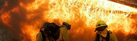 Seguimiento satelital de los incendios en California