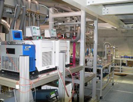 Instrumentos de LACIS utilizados para analizar las nubes creadas en el laboratorio
