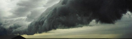 Nubes de granizo