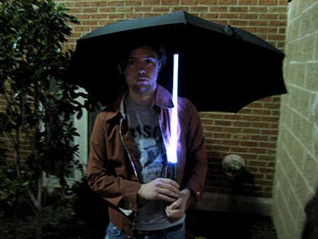 Paraguas LED