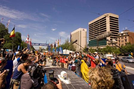 Umicore Solar Team, segundo puesto en el World Solar Challenge 2007