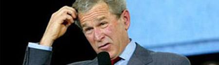 El calentamiento global según George Bush