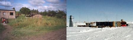 Las Lomitas (Formosa, Argentina) - Estación Vostok (Antártida)