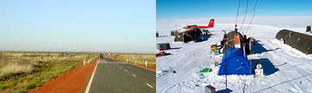 Pardoo, Australia occidental - Estación Vostok, Antártida