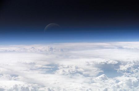 La cima de la atmósfera