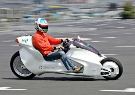 SUMO EV-X7, la motocicleta electromagnética