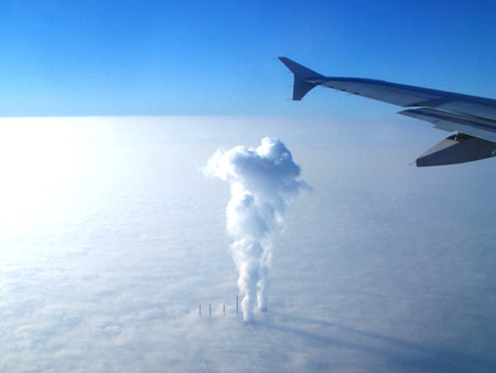 Nubes sobre las nubes