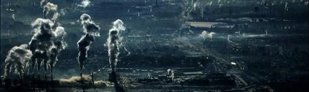 Contaminación en Moscú