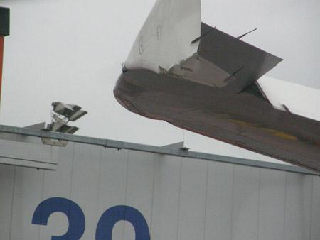 Aterrizaje de Airbus A320 con viento cruzado en Hamburgo, Alemania