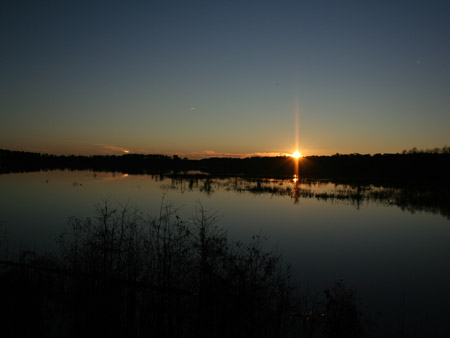 Columna de sol en Noxubee, Estados Unidos - Foto: Todd Hall