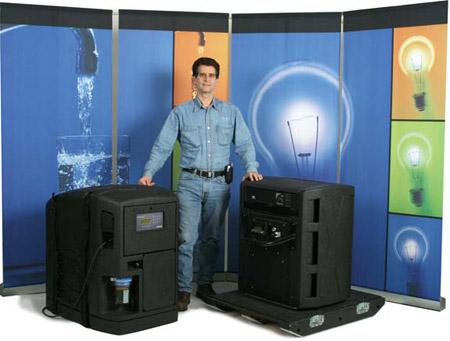 Dean Kamen y sus dos invenciones más recientes: el purificador portátil y el generador Stirling