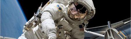 Astronautas en la Estación Espacial Internacional