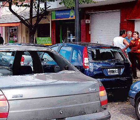 Granizo en La Plata - Foto: Daniel Forneri - Fuente: clarin.com