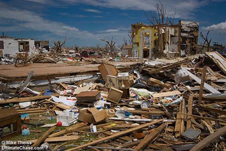 Tornado F5 - Greensburg, Kansas - Fotografía de Mike Theiss