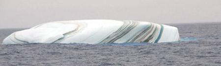 Iceberg rayado
