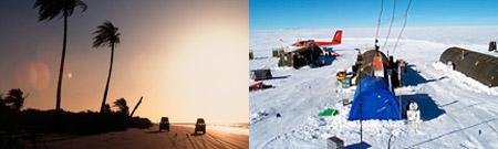 Podor, Senegal - Vostok, Antártida