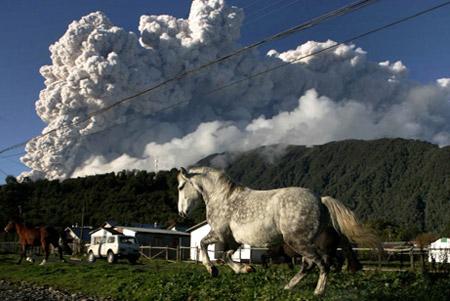 Consecuencias de la erupción del volcán Chaitén (Chile)