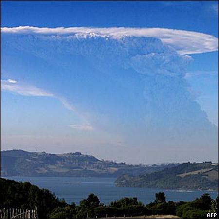 Erupción del volcán Chaitén