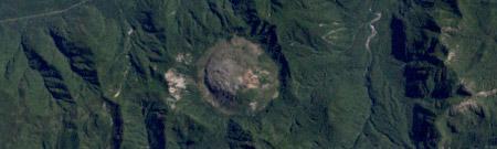 Imagen satelital: el volcán Chaitén (Chile) antes de la erupción