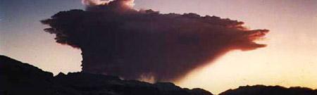 Erupción del volcán Hudson (Chile, 1991)