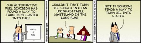 Dilbert y el medio ambiente