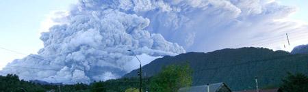 Erupción del volcán Chaitén (Chile)
