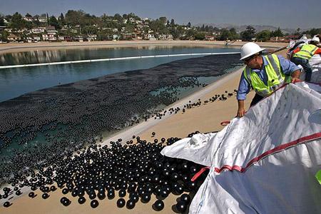 Combatiendo la contaminación con pelotitas