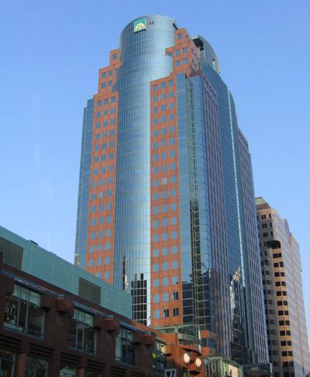 Edificio Place Montreal Trust, Canadá