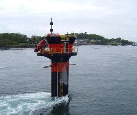 SeaGen, la turbina marina