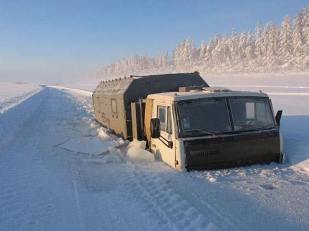 Oymyakon - Autopista de Kolyma, la 'carretera de los huesos'