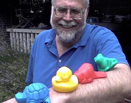 Curtis Ebbesmeyer y la odisea de los patitos de juguete