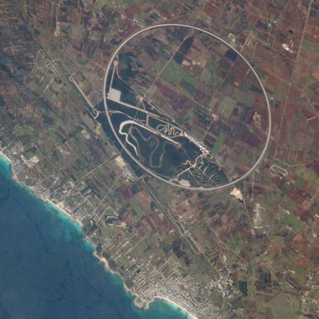 Anillo de Nardí² - Vista desde la Estación Espacial Internacional