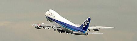 Boeing 747 de All Nippon Airways